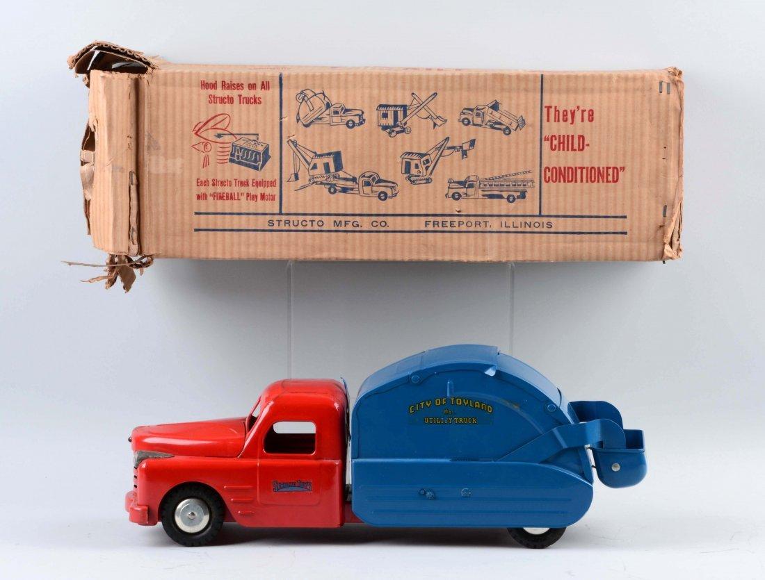 Structo Garbage Truck No. 500. - 2