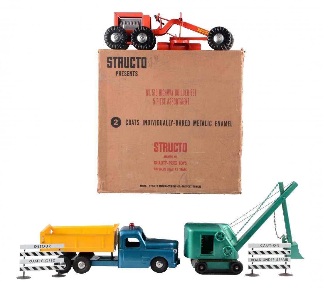 Structo No. 510 Highway Builder Set.