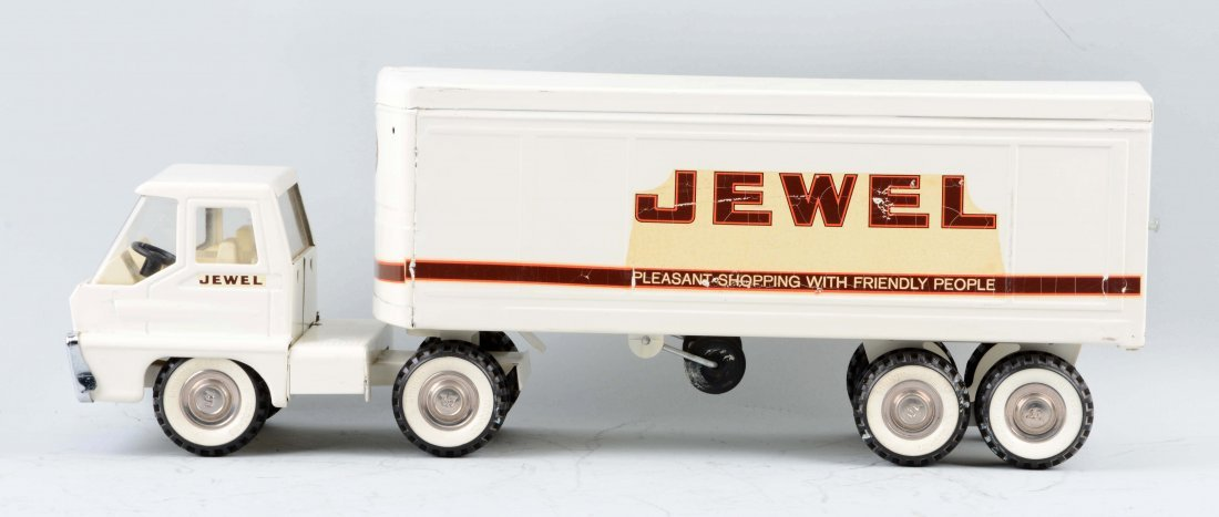 Pressed Steel Structo Turbine Jewel Truck. - 2