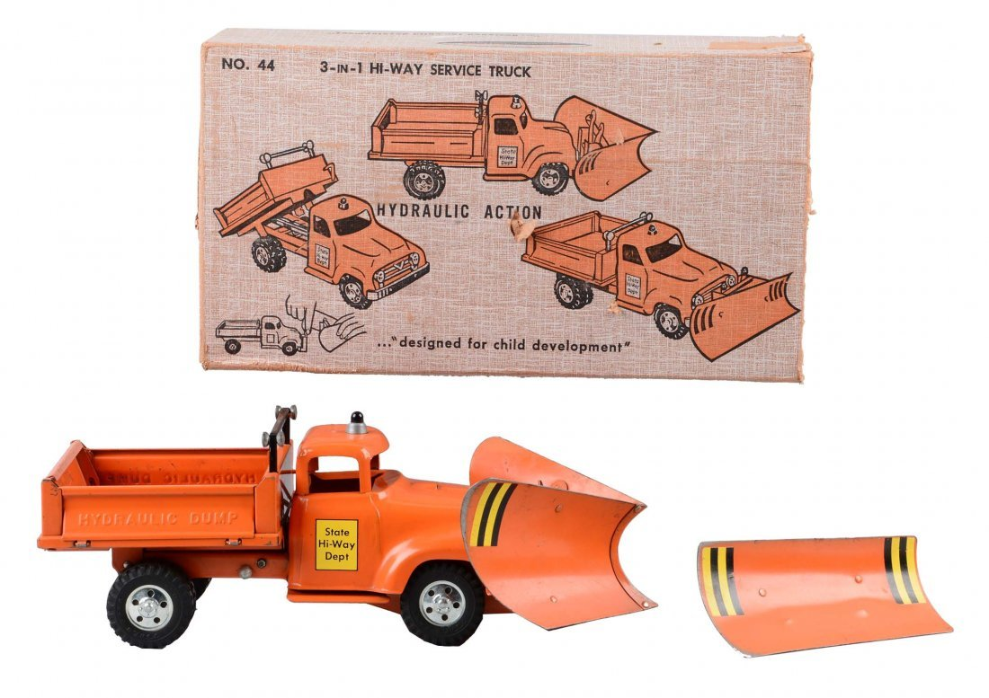 Tonka Three in One Highway Service Truck No. 44.