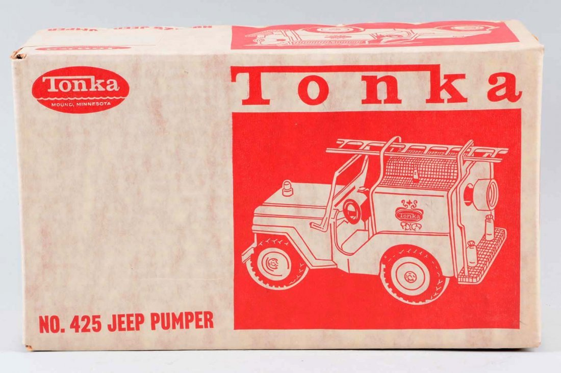 Tonka Jeep Fire Pumper No. 425. - 2