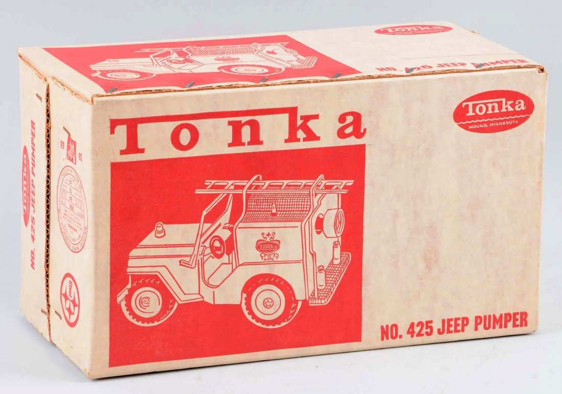 Tonka Jeep Fire Pumper No. 425. - 3