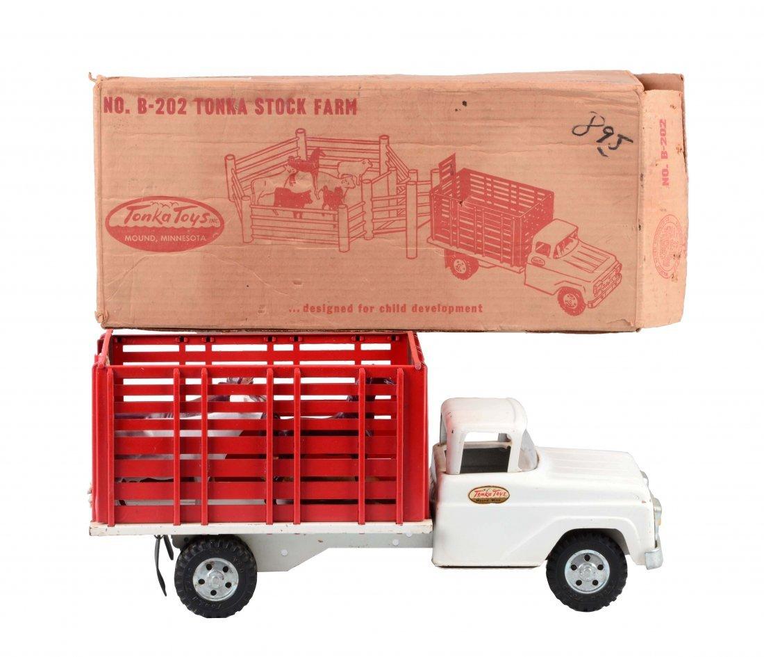 Tonka Stock Farm Truck No. B-202.