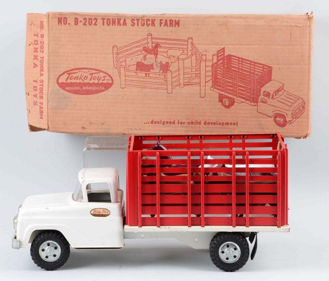 Tonka Stock Farm Truck No. B-202. - 2