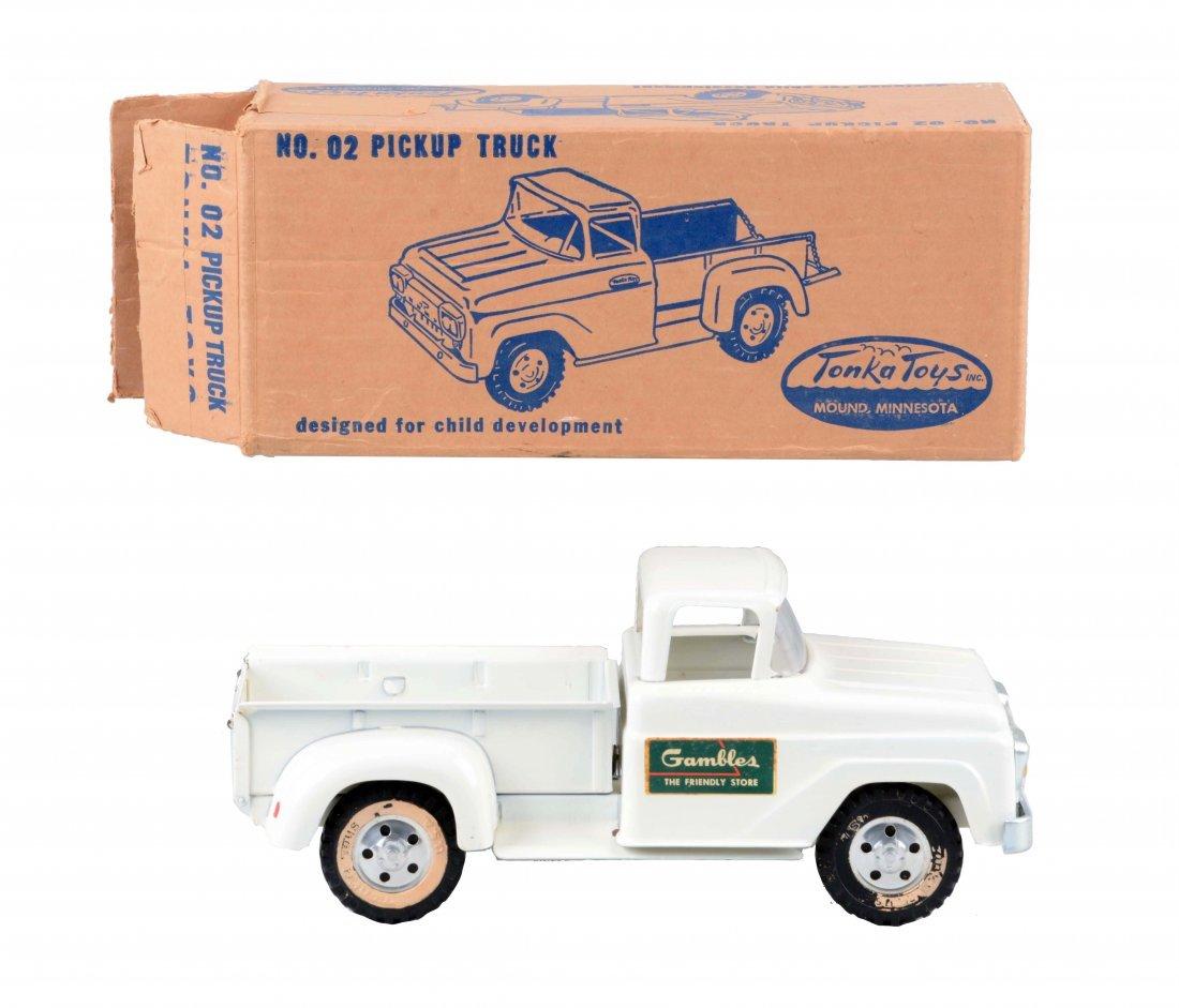 Tonka Gambles Pickup Truck No. 02.