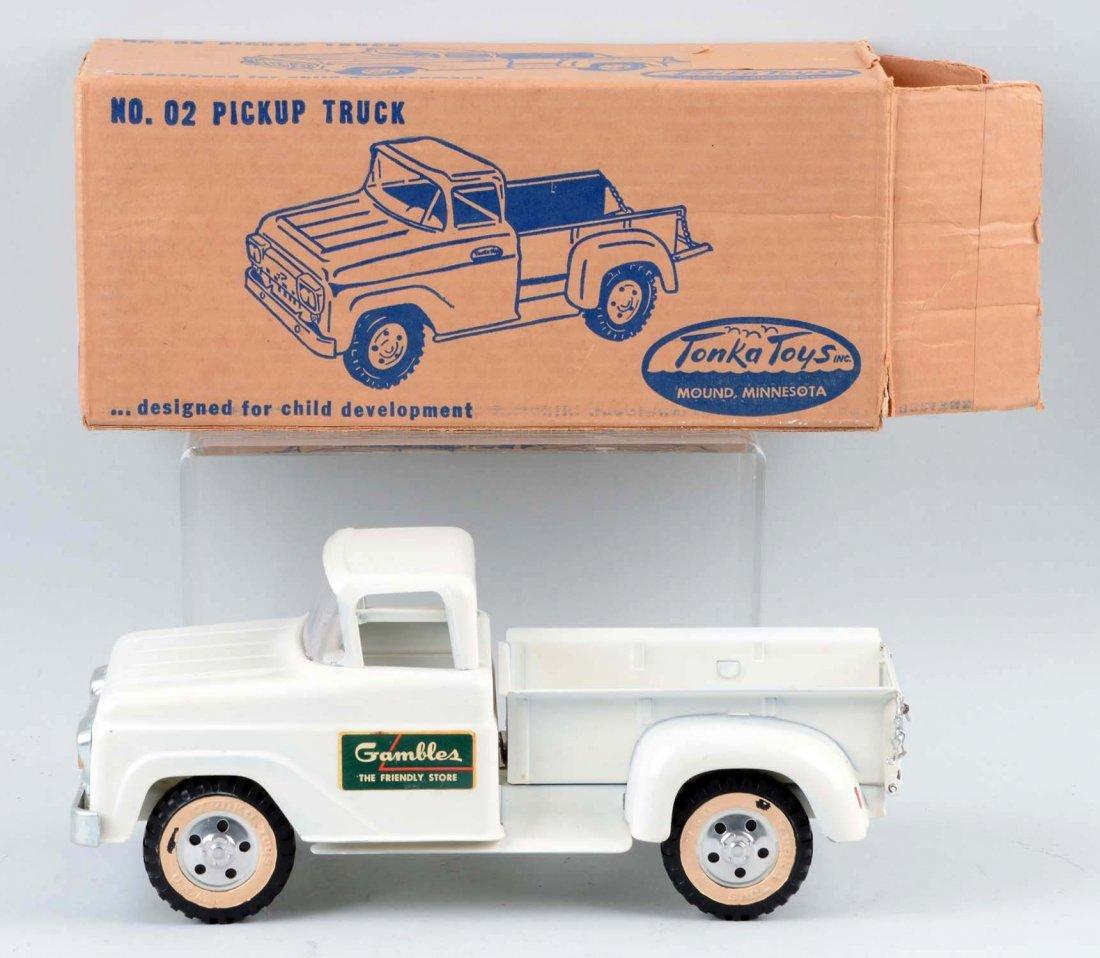 Tonka Gambles Pickup Truck No. 02. - 2