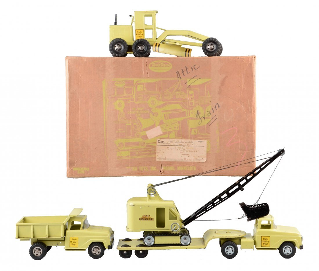 Tonka B-207 Highway Construction Set.