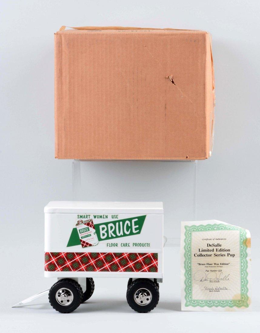 DeSalle Tonka Bruce Floor Wax Box Truck. - 2