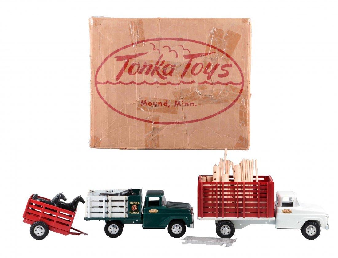 Tonka No. 205 Farm Set.
