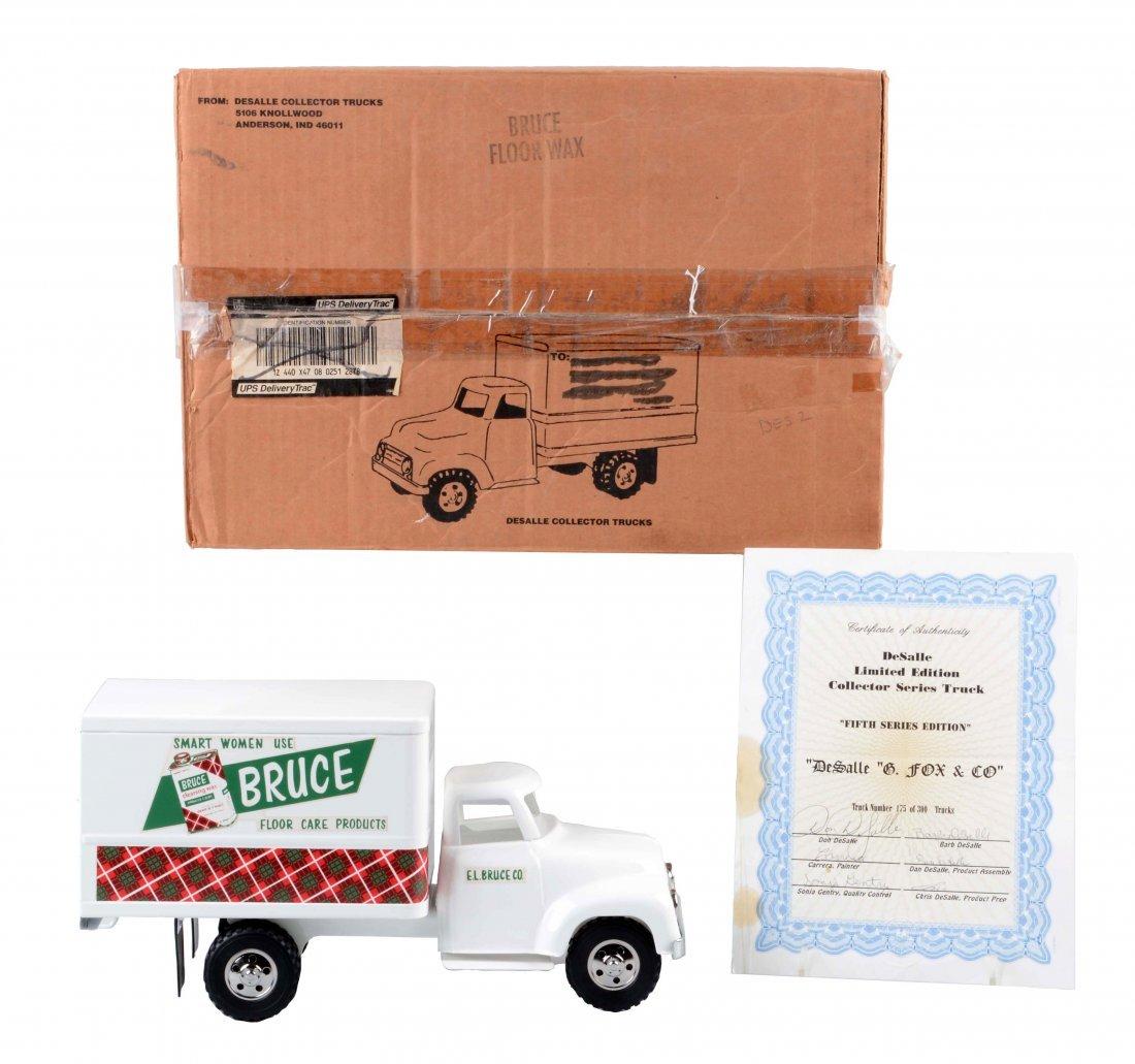 DeSalle Tonka Bruce Floor Care Box Truck.