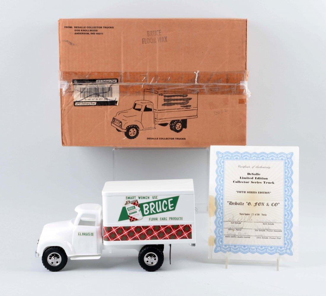 DeSalle Tonka Bruce Floor Care Box Truck. - 2