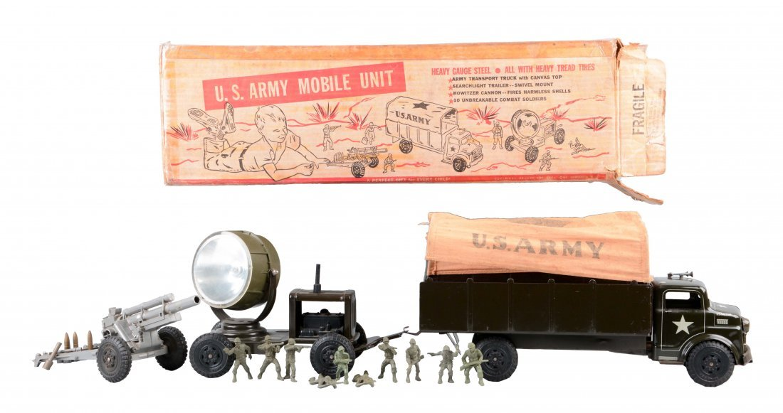 Deluxe Creations Lumar U. S. Army Mobile Truck Set