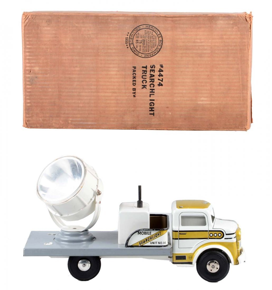 Marx Searchlight Truck No. 4474.