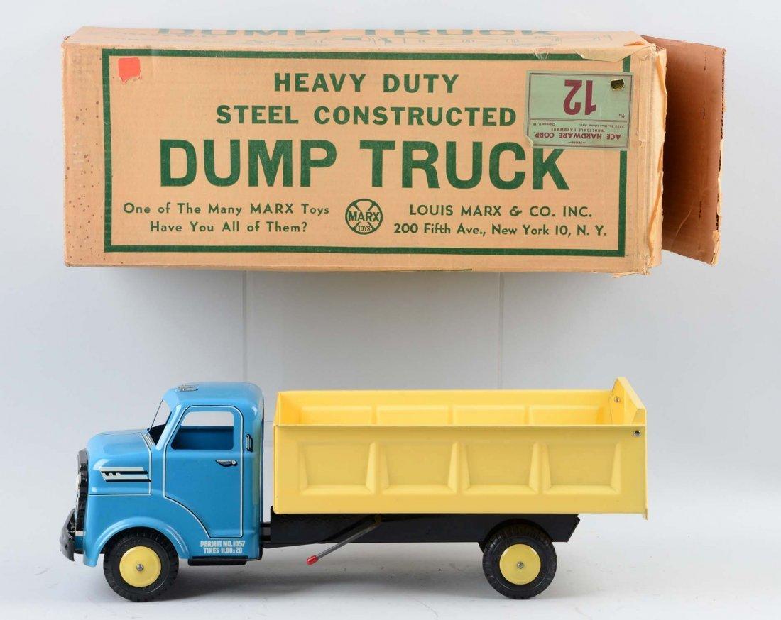Marx Dump Truck No. 1080. - 2