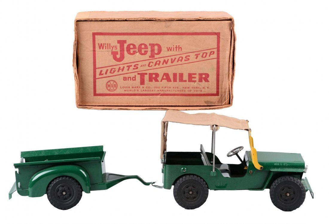 Marx Willy's Jeep.