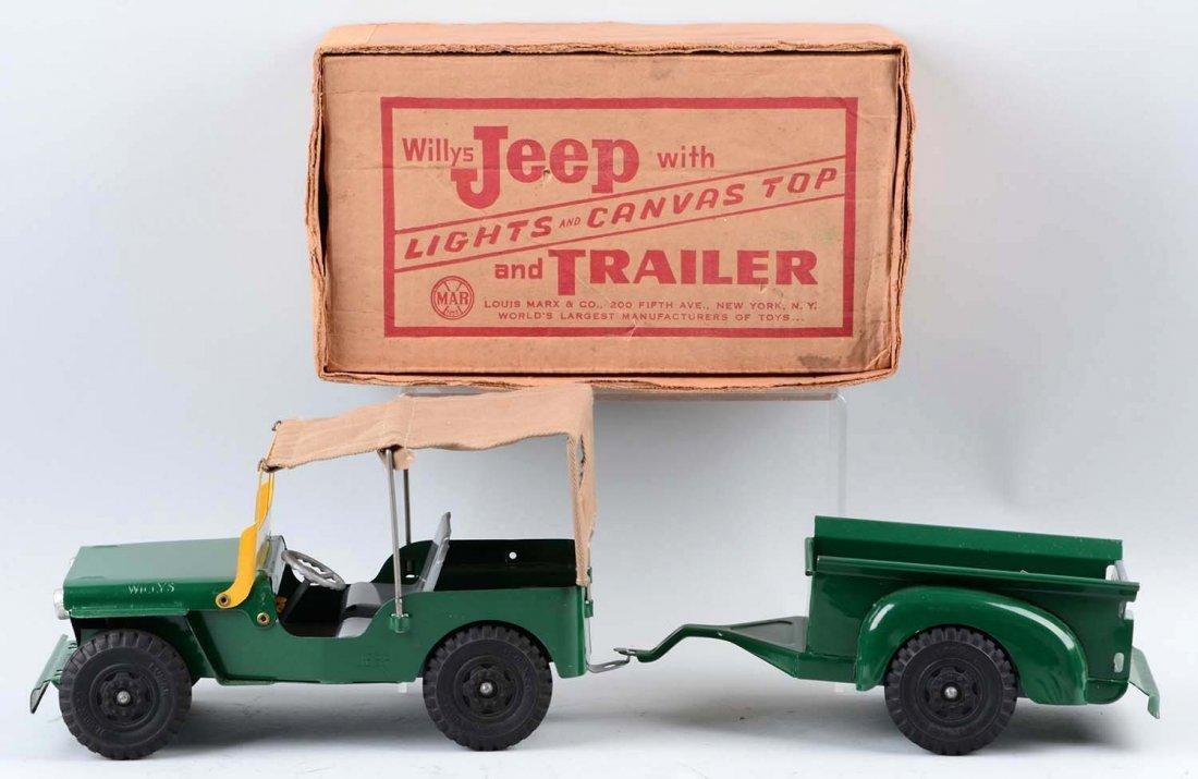 Marx Willy's Jeep. - 2