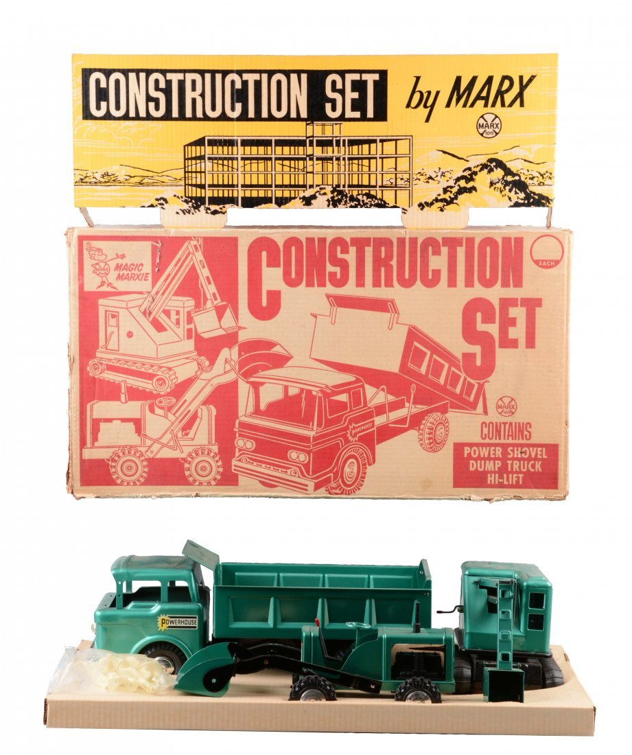 Marx Construction Truck Set No.5103.