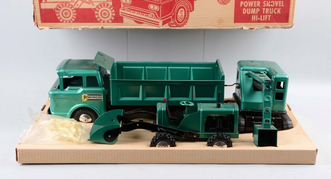 Marx Construction Truck Set No.5103. - 2