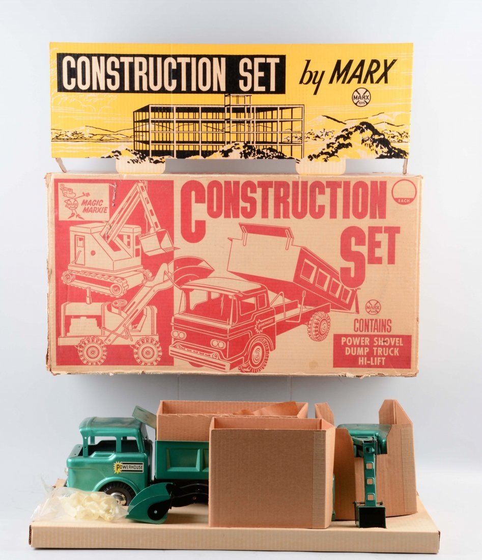 Marx Construction Truck Set No.5103. - 3