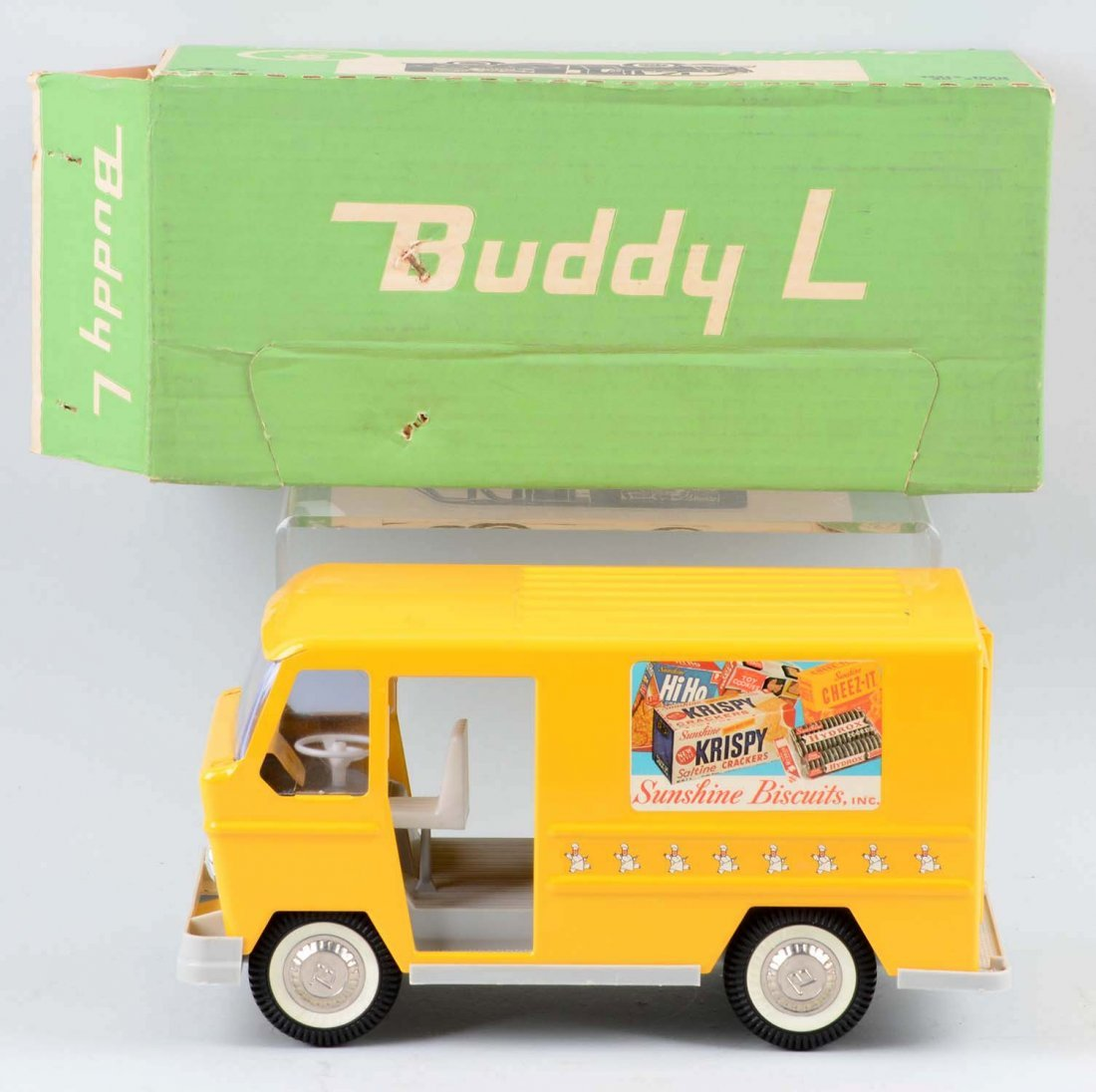 Pressed Steel Buddy L Sunshine Biscuits Truck. - 2