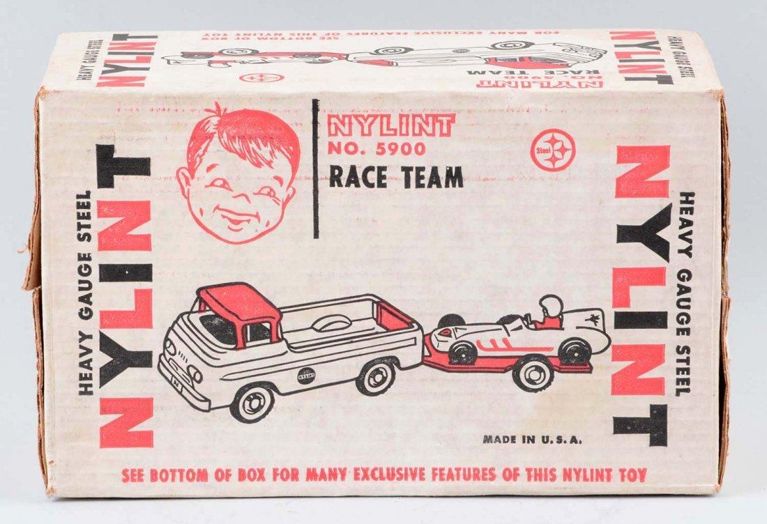 Nylint Race Team Set  No. 5900. - 2