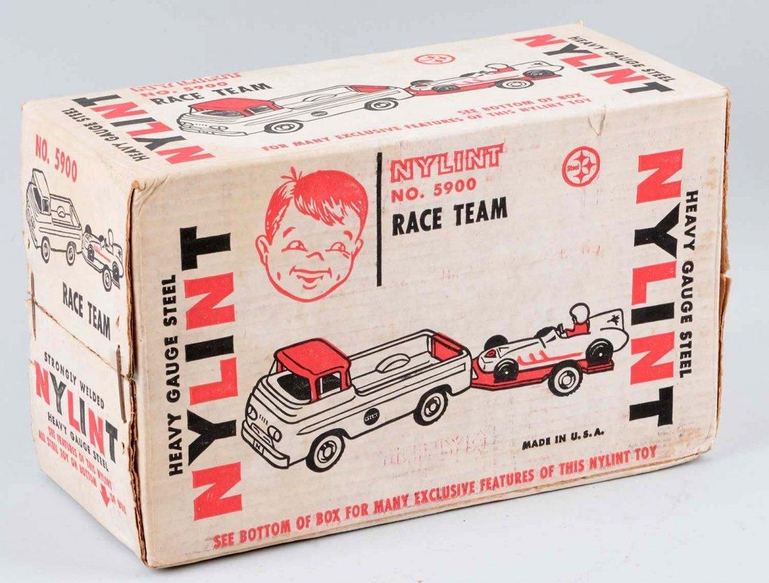 Nylint Race Team Set  No. 5900. - 3