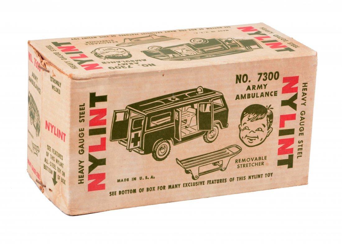 Nylint Ford Econoline Army Ambulance No. 7300.