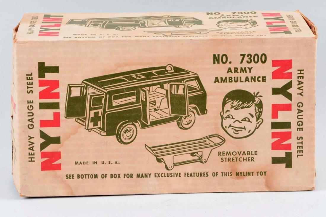 Nylint Ford Econoline Army Ambulance No. 7300. - 2
