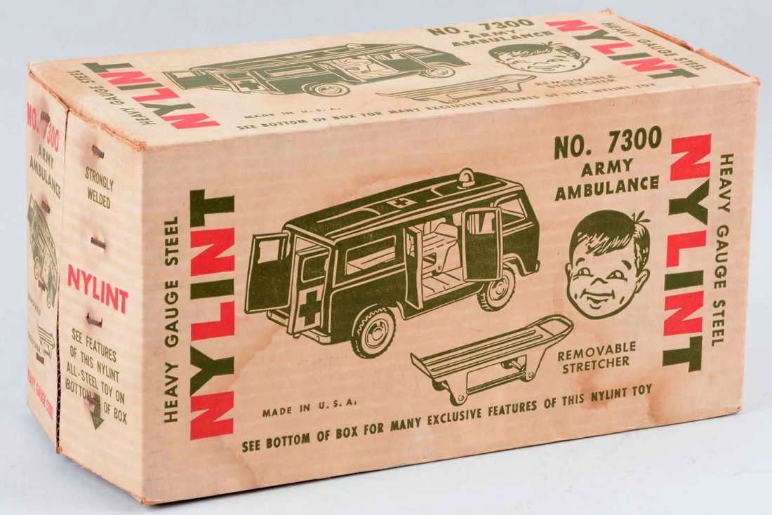 Nylint Ford Econoline Army Ambulance No. 7300. - 3