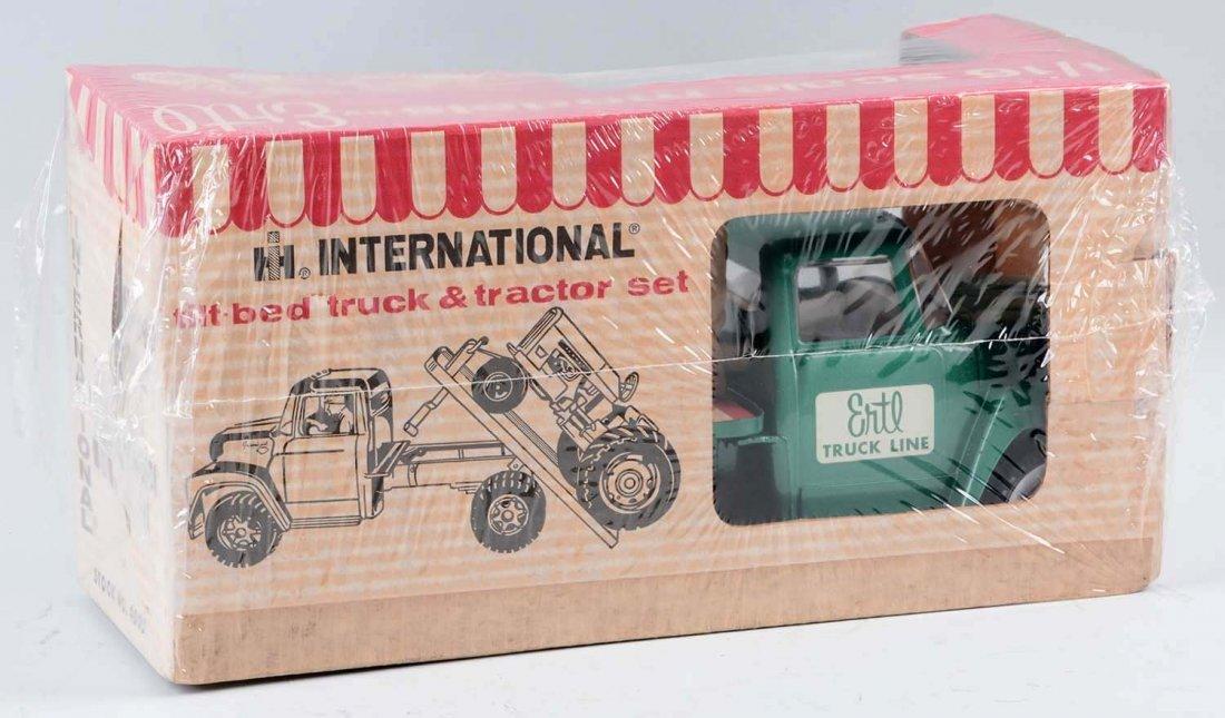 Ertl International Tilt Bed w/ a Farmall Tractor. - 3
