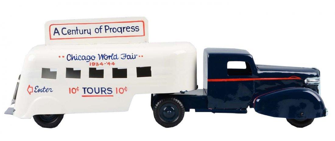 Pressed Steel Wyandotte 1934 Worlds Fair Truck.