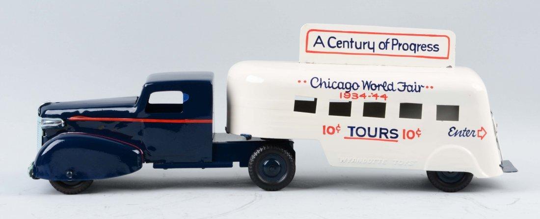 Pressed Steel Wyandotte 1934 Worlds Fair Truck. - 2