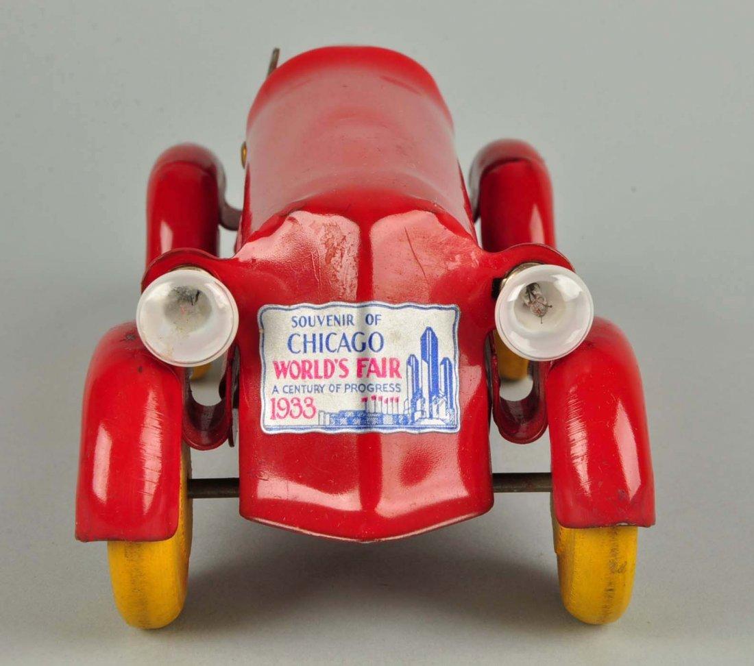 Pressed Steel Wyandotte Streamline Race Car. - 2