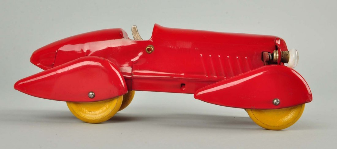 Pressed Steel Wyandotte Streamline Race Car. - 3