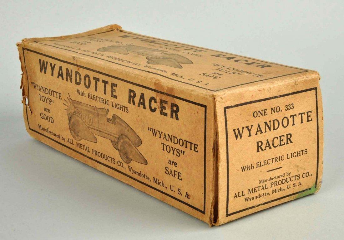 Pressed Steel Wyandotte Streamline Race Car. - 4