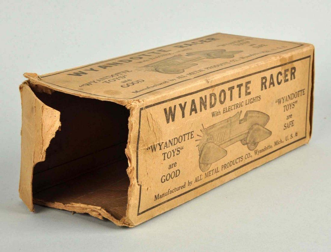 Pressed Steel Wyandotte Streamline Race Car. - 5