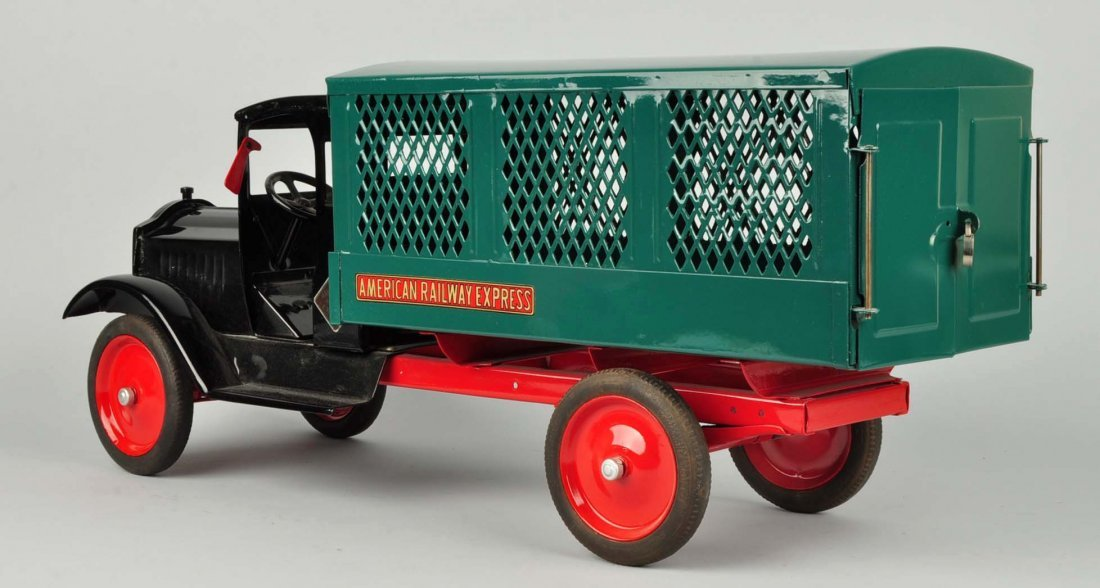 Pressed Steel Keystone Amer. Railway Express Truck - 2