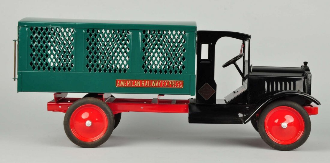 Pressed Steel Keystone Amer. Railway Express Truck - 3