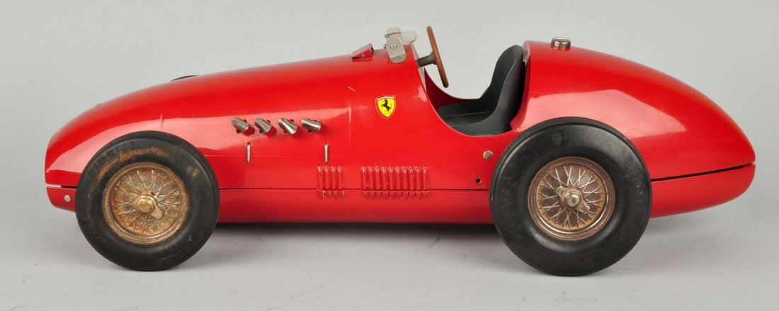 Pressed Steel Italian Toschi Ferrari Automobile. - 4