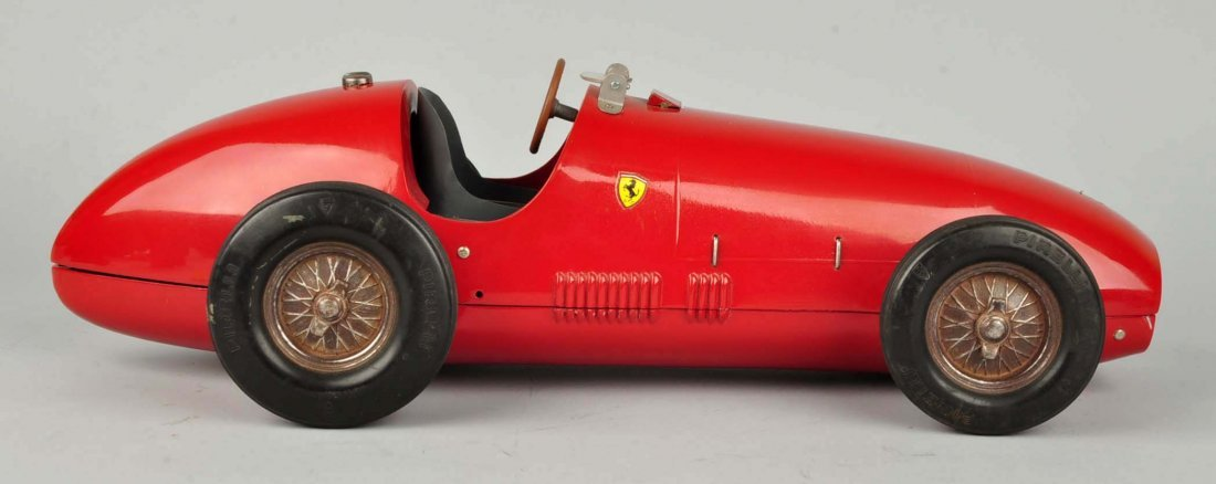 Pressed Steel Italian Toschi Ferrari Automobile. - 5