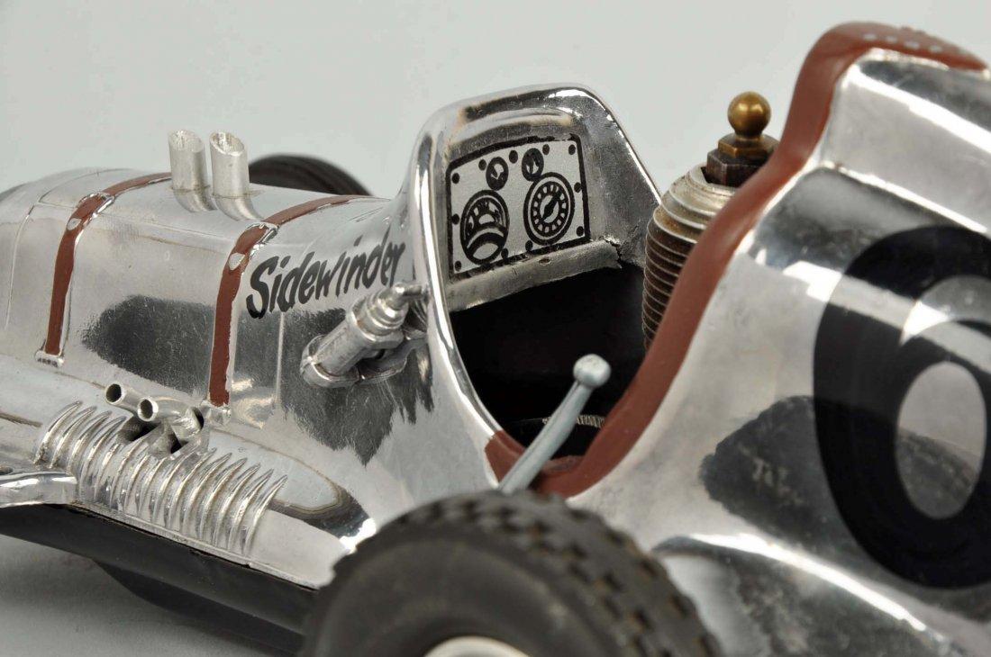 Cox Thimble Drome Silver Sidewinder Race Car. - 5