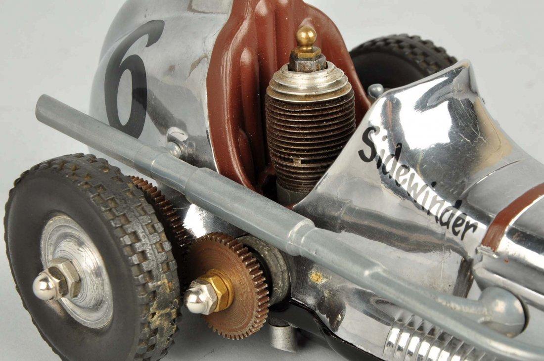 Cox Thimble Drome Silver Sidewinder Race Car. - 7