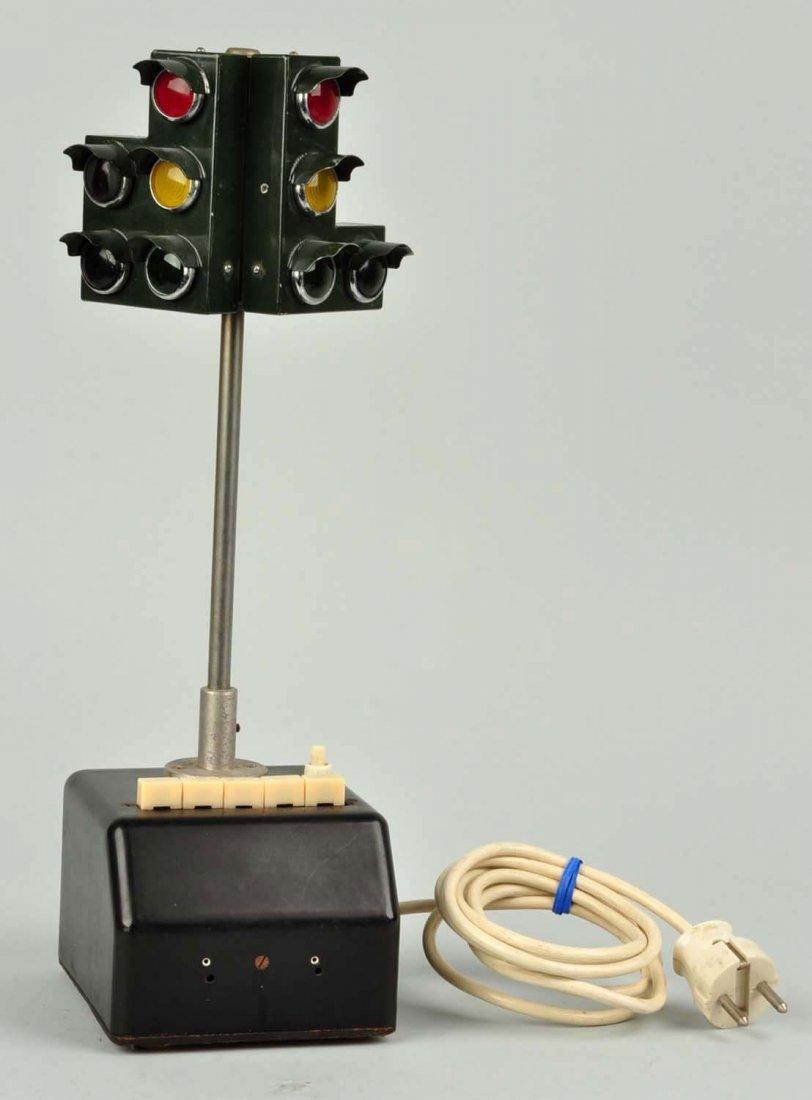 Unusual German Traffic Light Training School Device. - 3