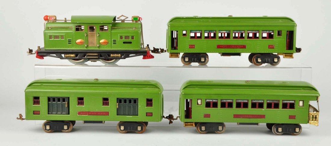 Lot of 4: Lionel No. 318E & Passenger Cars. - 2