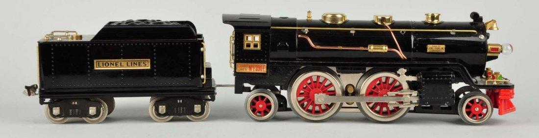 Lionel #390E Locomotive & Tender.