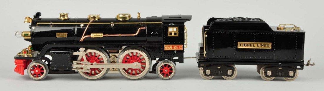 Lionel #390E Locomotive & Tender. - 2