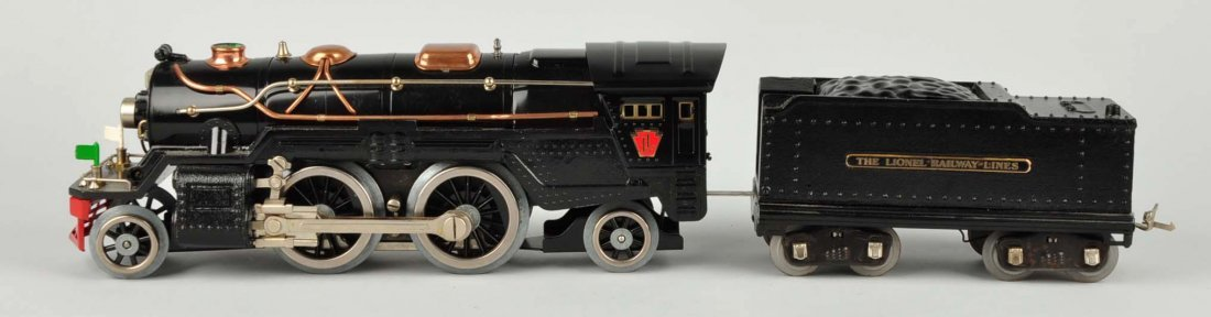 Lionel No 1835 Locomotive & 1835 W Tender. - 2