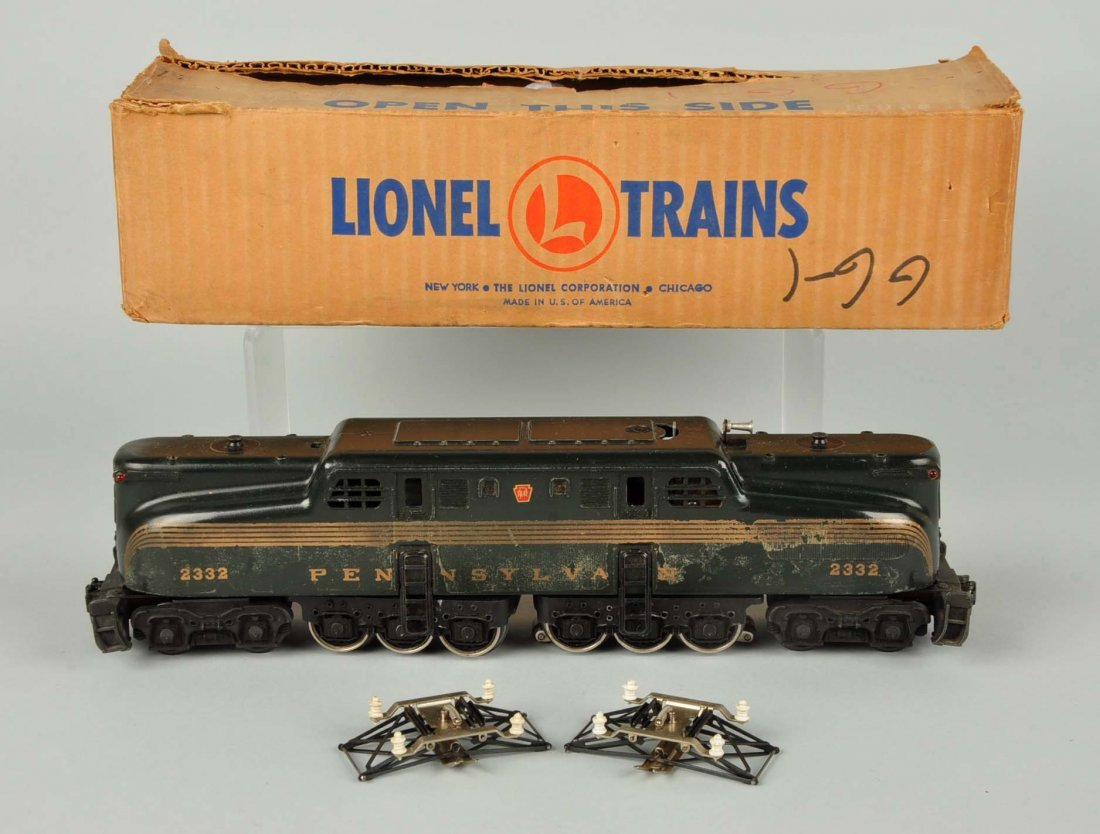 Lionel No. 2332 GG-1 Locomotive.
