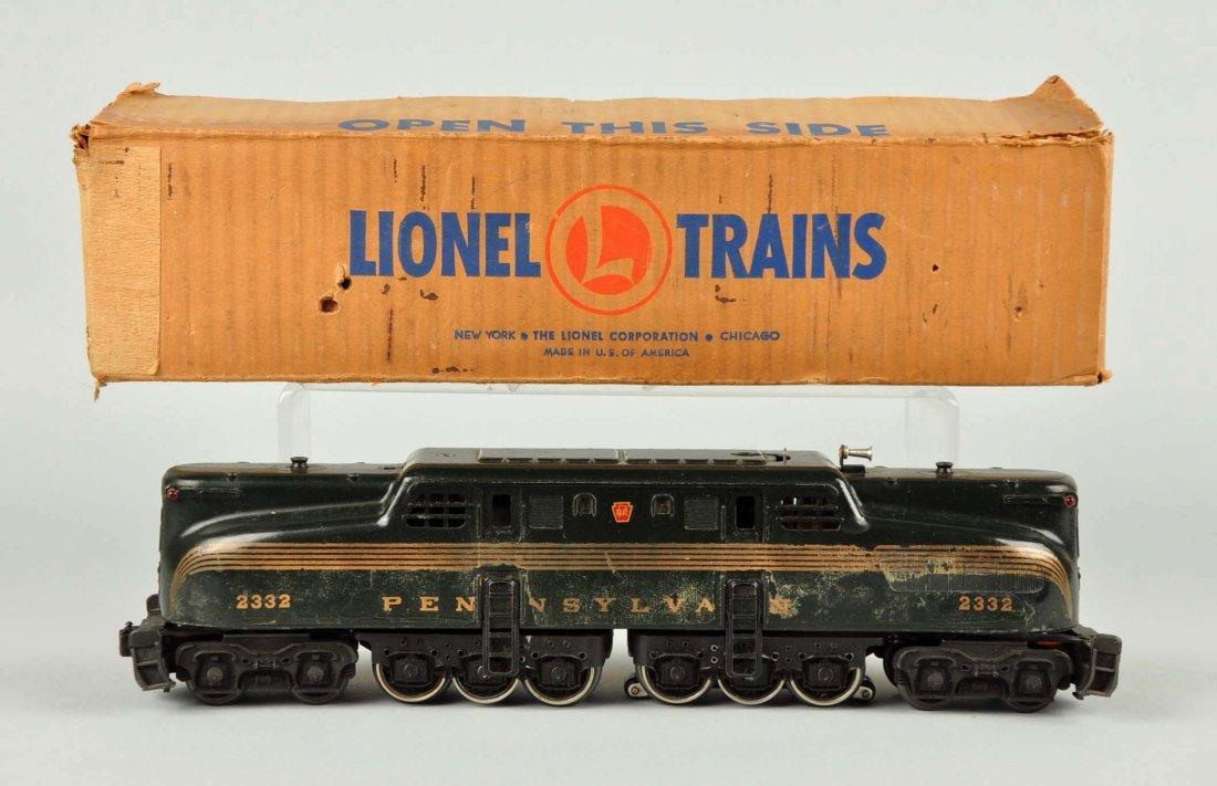 Lionel No. 2332 GG-1 Locomotive. - 3