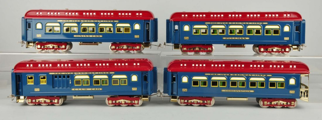 Lot Of 4: MTH Ives Passenger Cars. - 2